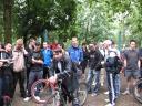 Ein Teil der Startgruppe der Radtour